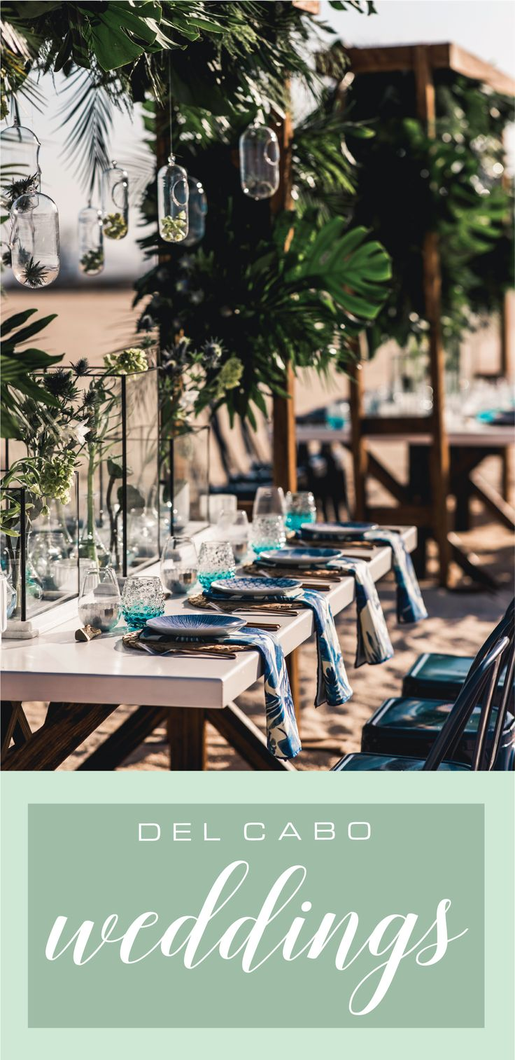 Get ready for your Baja wedding in Mexico! Check out our board to get  amazing ideas for your ceremony, reception. Del Cabo Weddings will make your dream wedding come true!