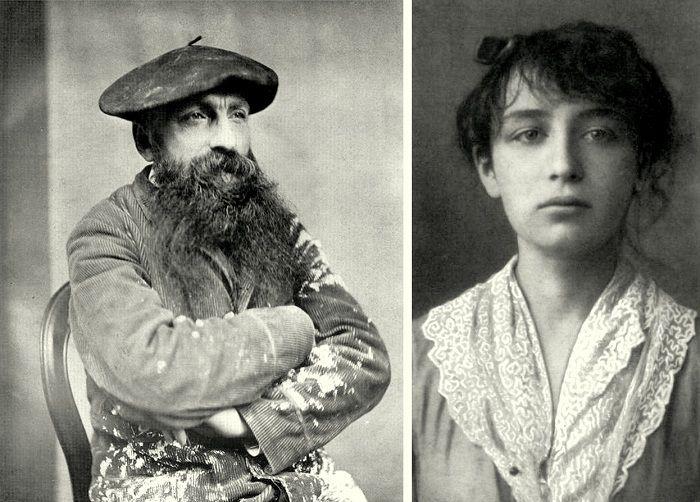 Огюст Роден и Камилла Клодель. | Фото: kleinburd.ru.