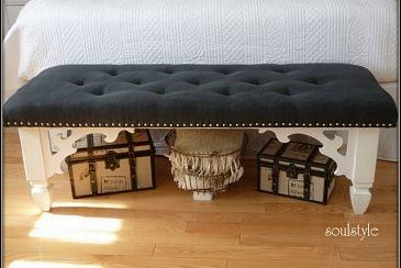 DIY Upholstered Bench :: Hometalk