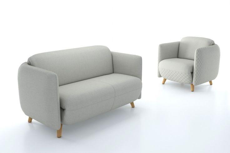 Venna to nowoczesna kompaktowa forma o klasycznym charakterze. Bryła fotela dobrze sprawdza się zarówno w miejscach publicznych, jak i w przestrzeni prywatnej. Venna pasuje wszędzie tam, gdzie potrzebny jest komfort i elegancja. Szeroki wybór tkanin pozwala na zaaranżowanie zestawu w wielu wariantach kolorystycznych. Finezji meblom Venna dodają także tkaniny z ciekawą, geometryczną fakturą. « Mak Studio