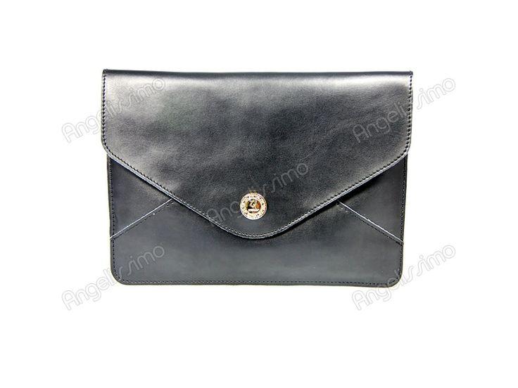 Клатч - конверт черный