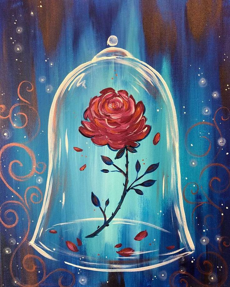 Come meet a princess for this interactive paint and sip
