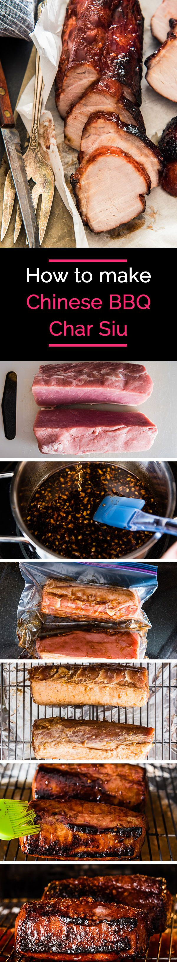 Chinese BBQ Char Siu - The perfect main dish to serve at a party. It's also a great staple to have in your fridge because it's so versatile and can be used in a variety of other dishes. | omnivorescookbook.com