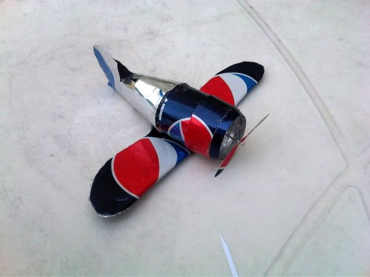 beer can airplane instructions with pictures