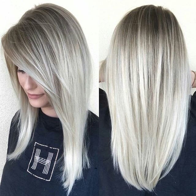 Blonde Goals ... by #BTCONESHOT2016 Hair Awards Finalist @beckym_hair at @habitsalon THANK-YOU for tagging #BEHINDTHECHAIR first! :)