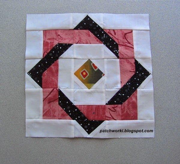 Hippy square - tutorial