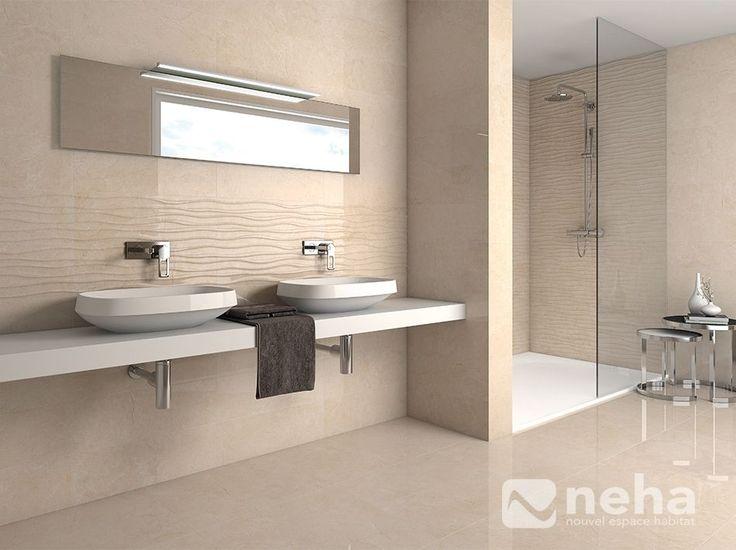 Faience turquoise salle de bain #4 - carrelage sol salle de bain | Bathroom mirror, Mirror, Home ...