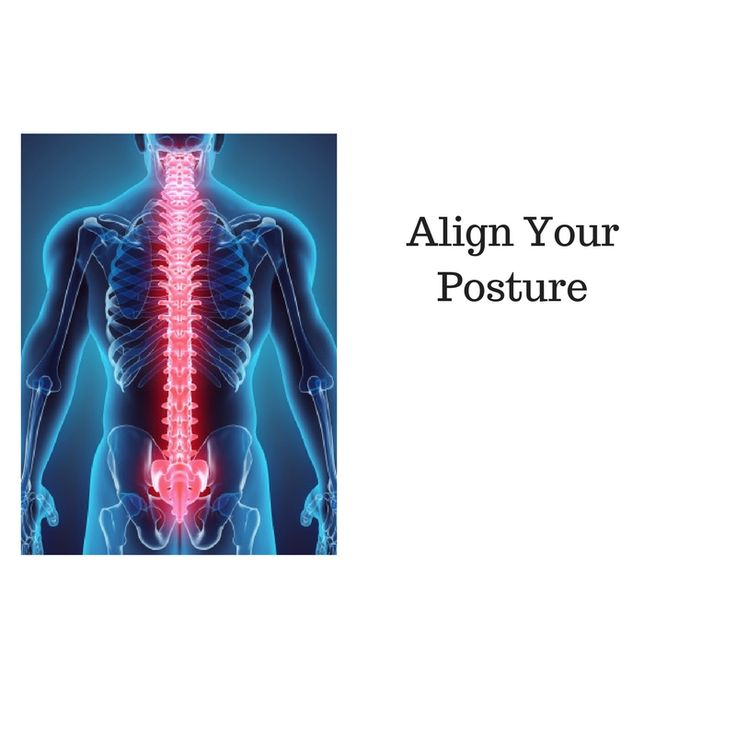 Align your posture and decrease pain!