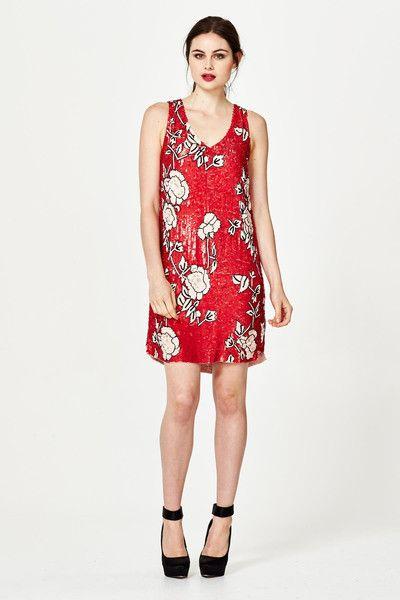 Trelise Cooper Scarlett Letter Dress at Wendys Boutique