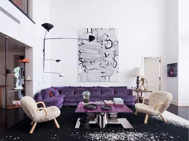 20+ interiors using Pantone's 2018 Ultra Violet - French By Design