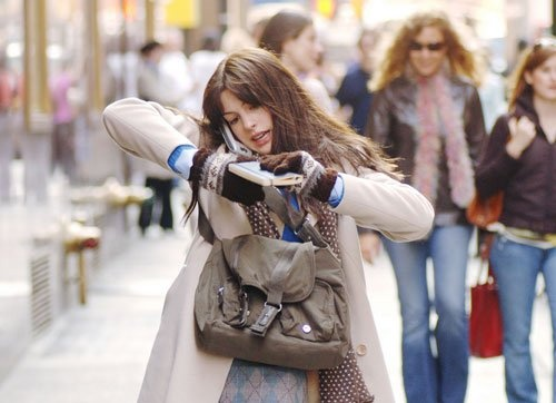 Some days you just feel like Andrea Sachs in The Devil Wears Prada.