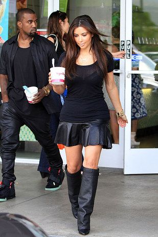 A Brief History Of Kim And Kanye's Love Of Fro-Yo