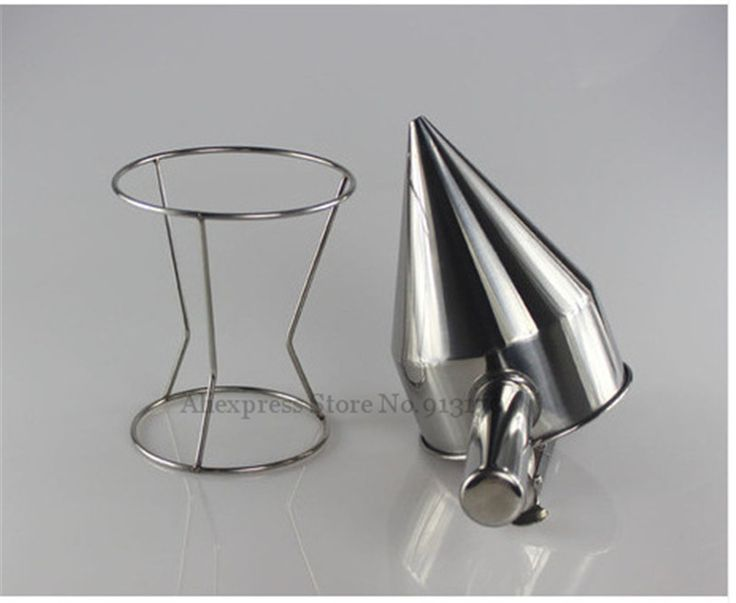 Full Stainless Steel Batter Dispenser Waffle and Takoyaki Mixture Distributor With Handle and Switch