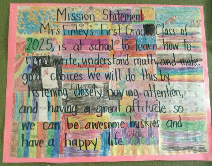 The  Best Classroom Mission Statement Ideas On