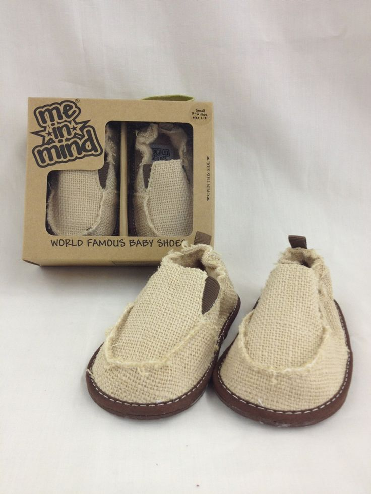 Me In Mind Tan Baby Boy Shoes