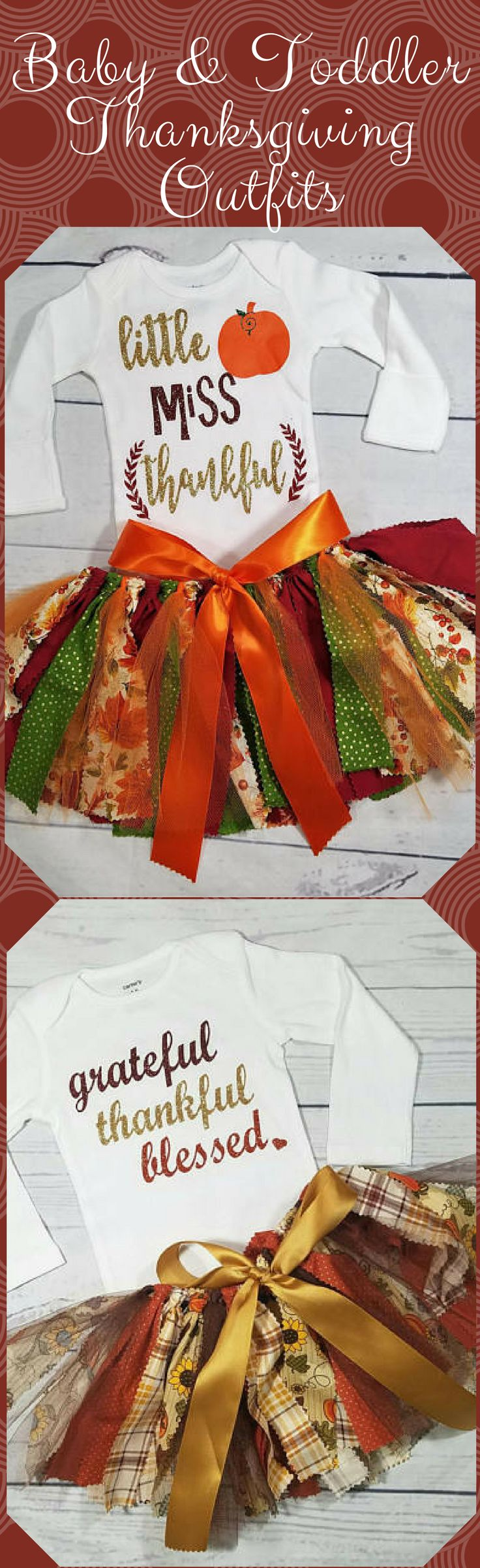 little miss thankful grateful thankful blessed thanksgiving outfit fall baby girl outfit pumpkin patch outfit scrappy fabric tutu thanksgiving day outfit skirt tutu #baby #toddler #thanksgiving #tutu #babysfirst #thankful #babygirl