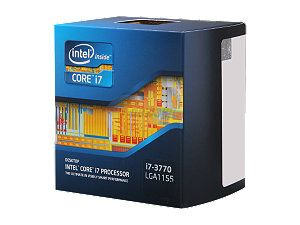 Intel Core i7-3770 Ivy Bridge 3.4GHz (3.9GHz Turbo) LGA 1155 77W Quad-Core Desktop Processor Intel HD Graphics 4000 BX80637I73770 - $319.99