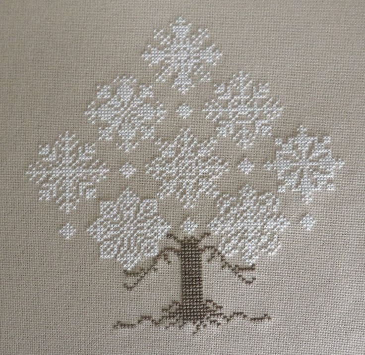 My Cross Stitch Corner: Winter Forest by The Cricket Collection