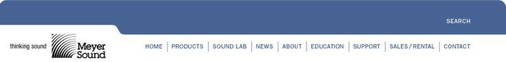 Meyer Sound News : Interview with Sound Designer Tony Meola