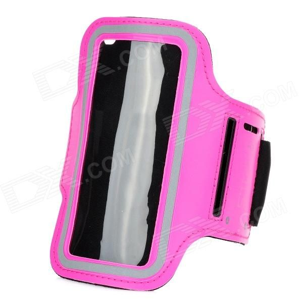 Color: Dark Pink; Brand: OU LI SHENG; Model: N/A; Material: Rubber; Quantity: 1 Piece; Shade Of Color: Pink; Compatible Models: Samsung Galaxy S5 mini; Band Length: 27.5 cm; Packing List: 1 x Armband; http://j.mp/1toyOZX