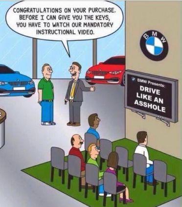 Funny bmw cartoon - http://jokideo.com/funny-bmw-cartoon/