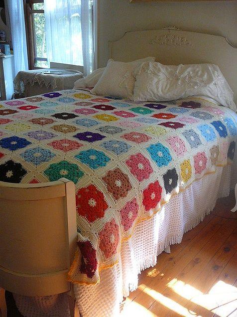 swoon... - crochet blanket!