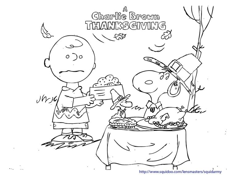 260 best images about thanksgiving on pinterest for Snoopy thanksgiving coloring pages