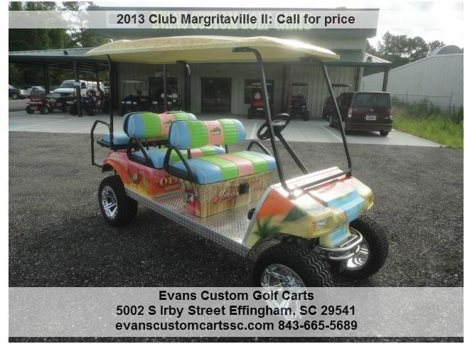 Margaritaville Limo Custom Golf Cart - Evans Custom Carts ...  |Margaritaville Golf Cart Craigslist