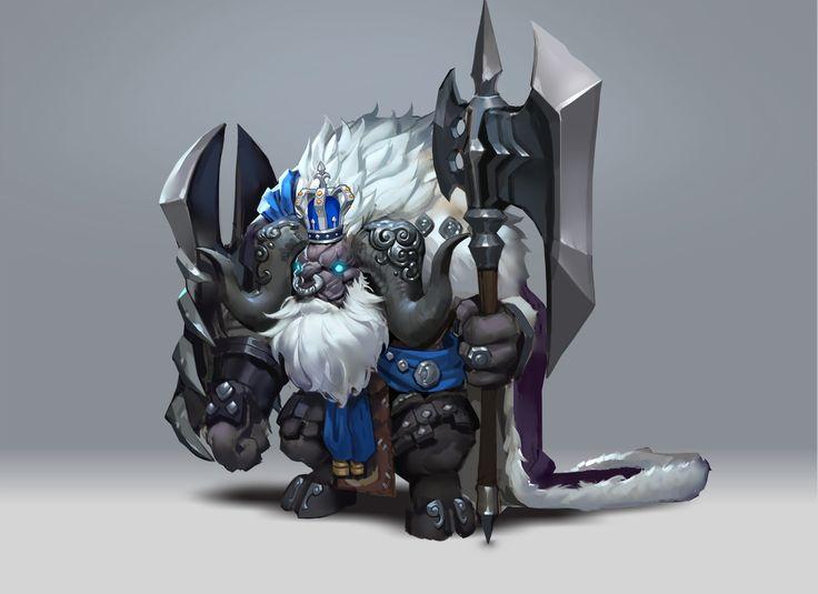 ArtStation - Tauren Warrior, M ZM