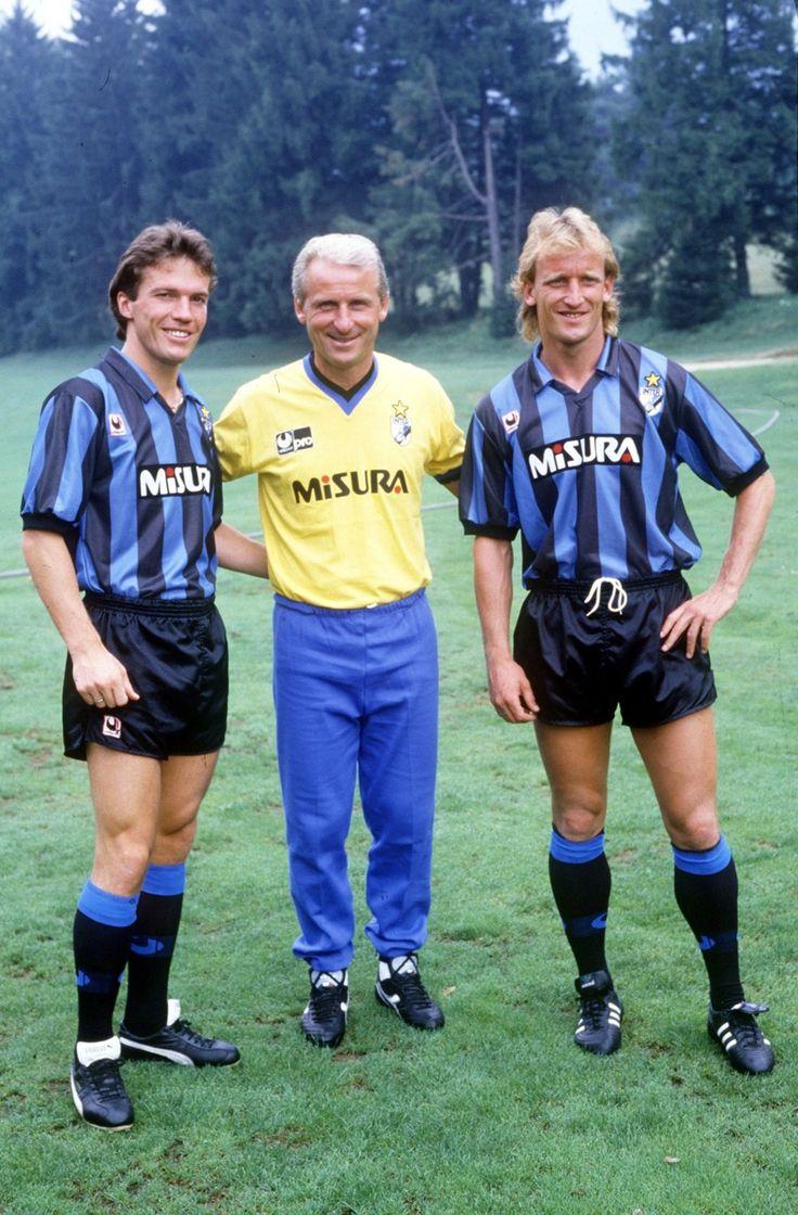 Lothar MATTHAUS 1988-1992;  Giovanni Trapattoni; manager 1986–1991;   Andreas BREHME 1988-1992
