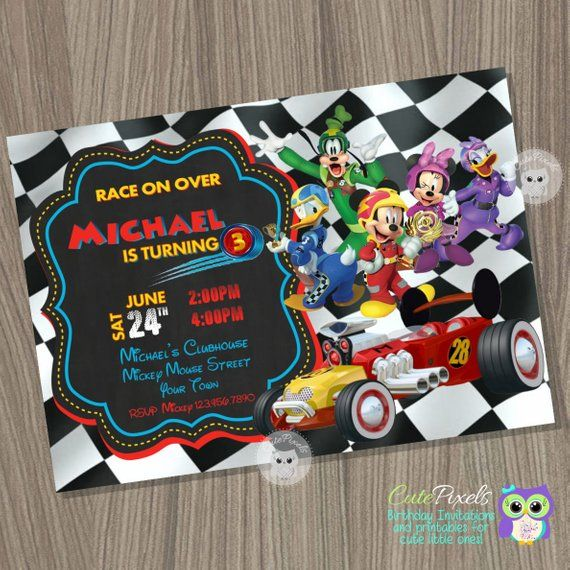 Mickey Mouse Roadster Corredores Bolsa De Corredores De