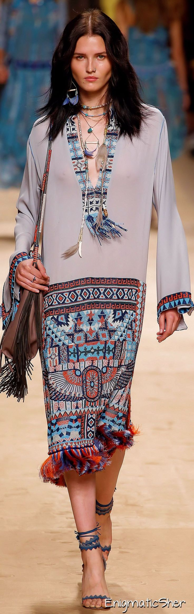 Etro Spring Summer 2015 Ready-To-Wear...BOHO