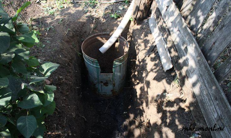 Простая канализация на даче своими руками: дренажная канава, отстойник для крупных отходов