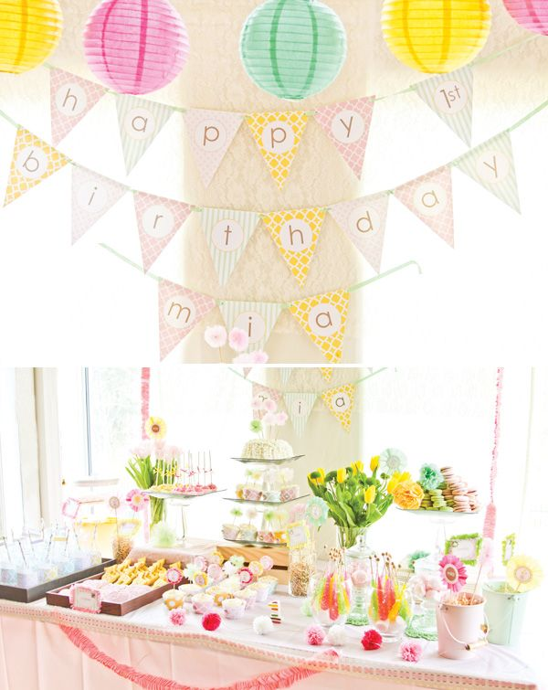 DREAMY Princess Safari First Birthday Party // Hostess with the Mostess®