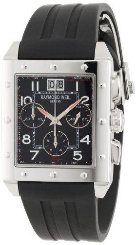 Raymond Weil Tango Mens Watch 48811-SR-05200  Price Β£1395 http://www.thesterlingsilver.com/product/tag-heuer-mens-steel-bracelet-case-sapphire-crystal-swiss-quartz-black-dial-analog-watch-waz111a-ba0875/