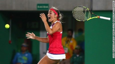 And I saw this moment (well, on TV ;-))!  Monica Puig wins Puerto Rico's first…