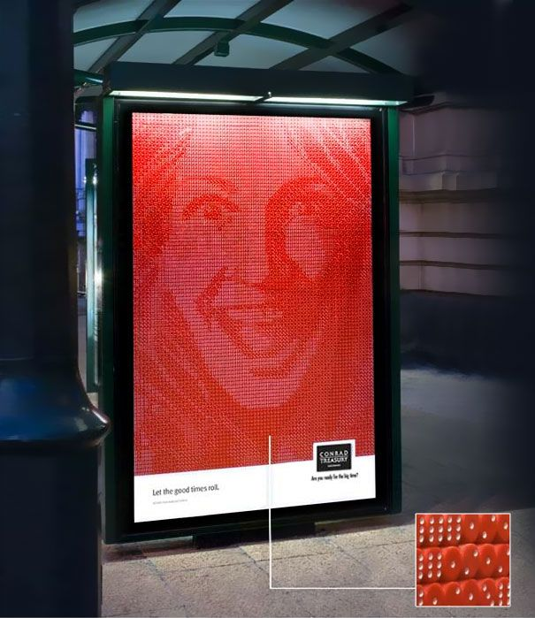 Treasury Casino: Let The Good Times Roll | 40 Clever and Creative Bus Stop Advertisements | DeMilked