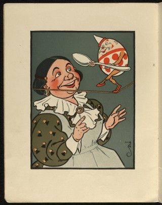 Public Domain Images - Denslow's Humpty Dumpty Vintage Children's Book from 1903 - Premium Member  Public Domain Images
