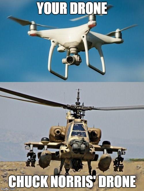 Chuck Norris drone