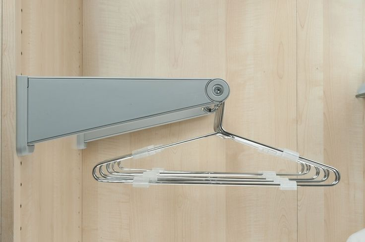 Hanging Around? Ambos rod holder bracket pairs support telescopic clothing rods in wardrobes or on walls. Two size options; to hold rods 500-750mm and to hold rods 750-1150mm. (And yes, Ambos make the rods too!)