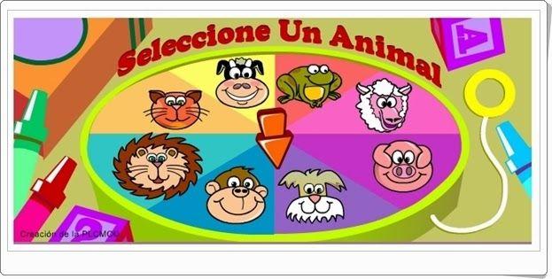 """""""¿Quién soy yo?"""" es un sencillo juego para nombrar los animales en español e inglés."""