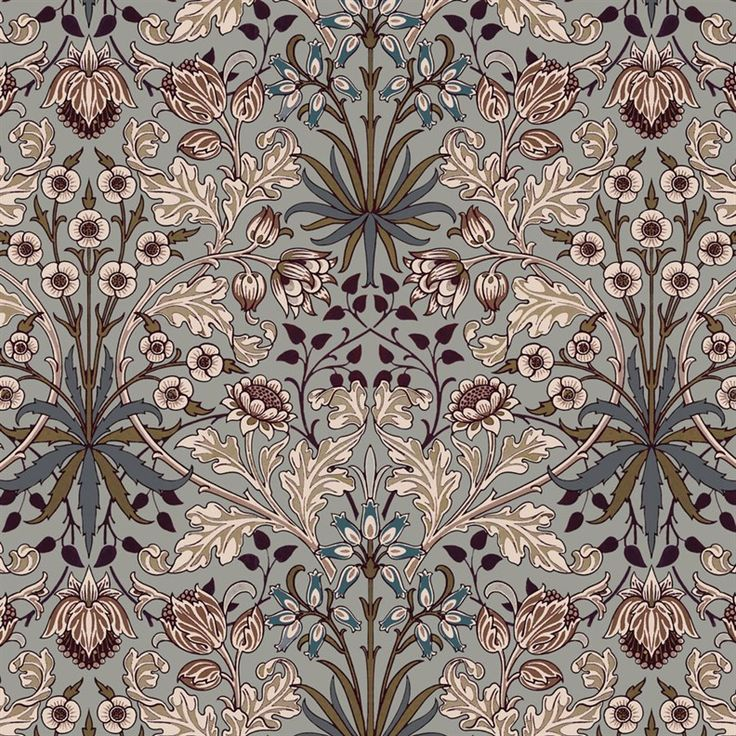 House of Hackney x William Morris Hyacinth Wallpaper | Jane Richards Interiors