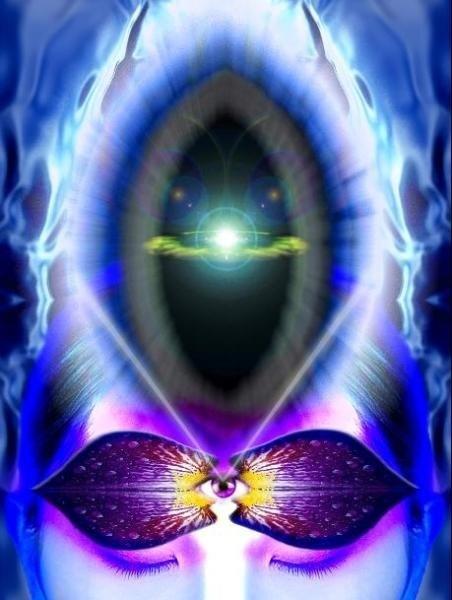 Reiki divine light on earth