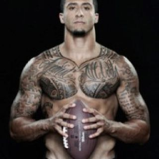 oh my goodness;) hey there...! Colin Kaepernick!