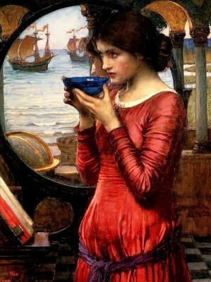 Pre Raphaelite Art: Destiny - John William Warterhouse, 1900.