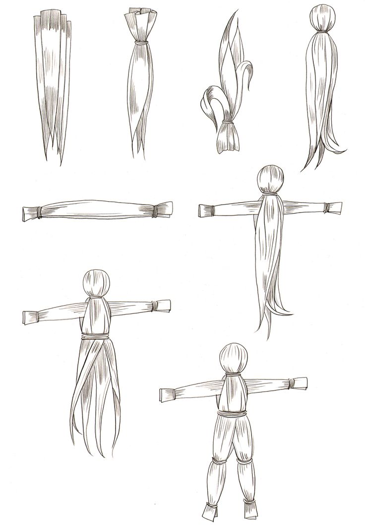 how to make corn husk dolls - Google-Suche