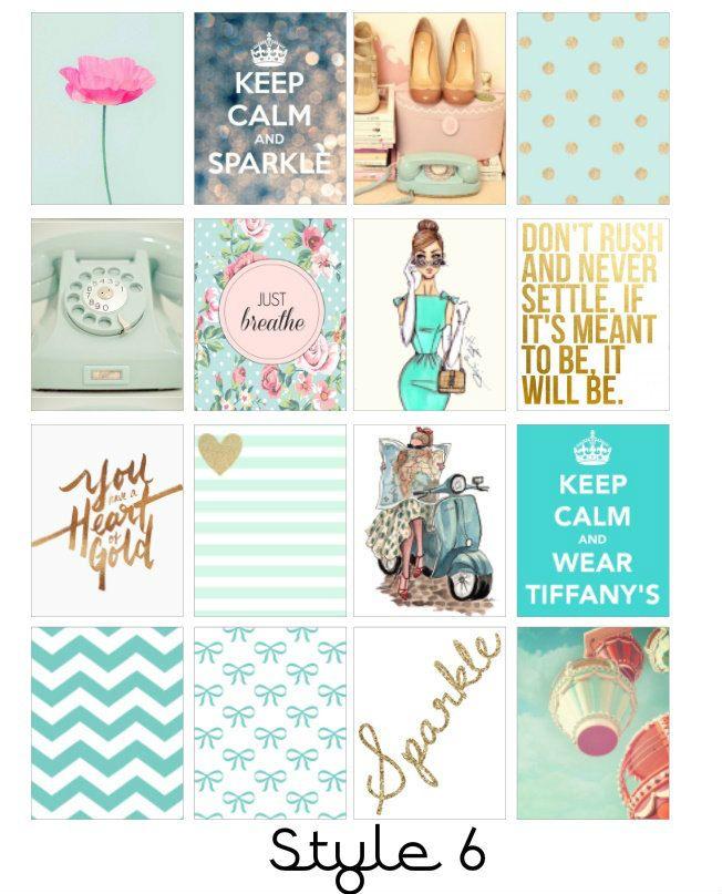 Fashion Icon Erin Condren Stickers (4.50 USD) by LittleSurpriseShoppe