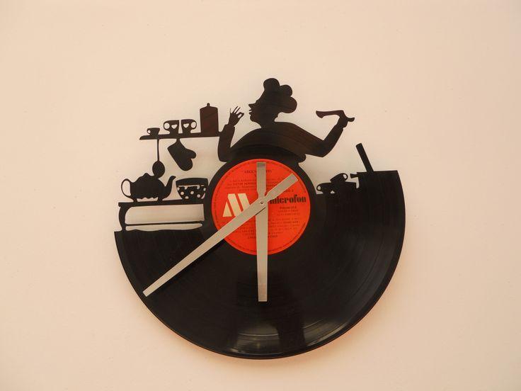 17 best images about relojes de pared calados laser - Reloj vinilo pared ...
