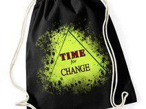 """Worek - plecak bawełniany """"change"""""""