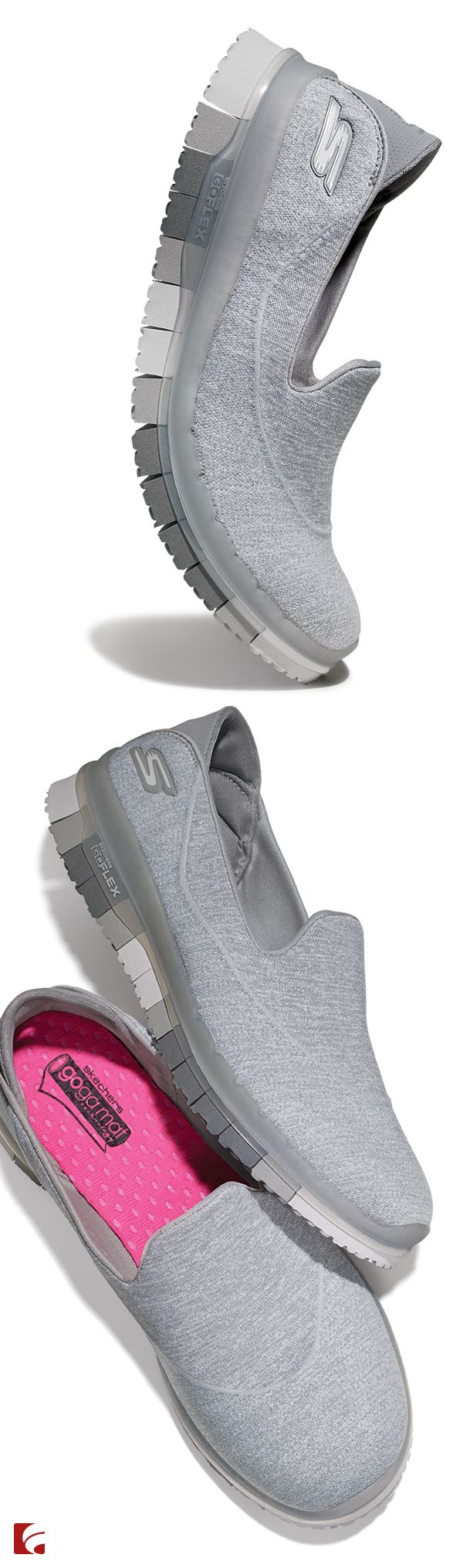 Your new go-to shoe to conquer it all. The Skechers GO FLEX sneaker is flexible and comfortable to support you during whatever life brings you. Grab your to-do list and pair with your favorite comfy-cute outfit and you're out the door!